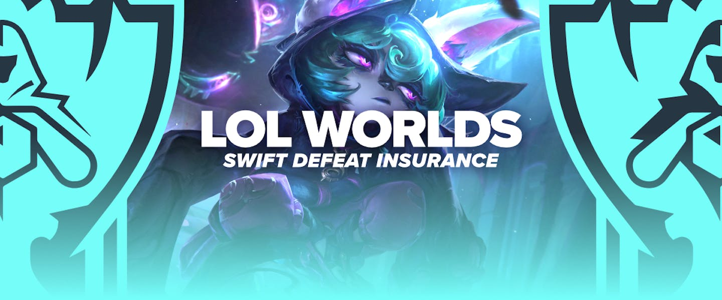 Place a bet on League of Legends Worlds matches, and earn a refund if your selection loses in less than 25 minutes!