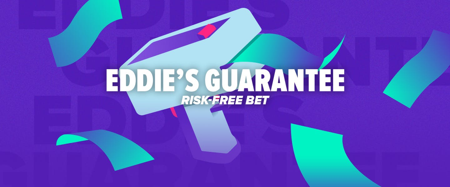 You've battled Eddie in the casino, but now you're teaming up with him! Back his best bet of the weekend, and be refunded if it loses!